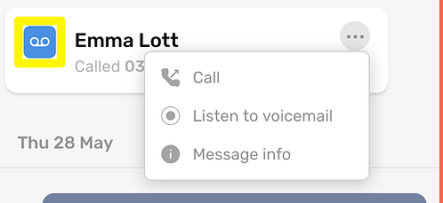 CircleLoop - Desktop - Received Voicemail - Menu-1