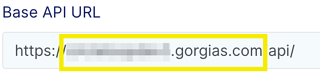 Gorgias - Domain From API Base URL