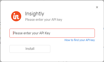Insightly API-1