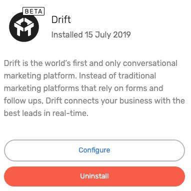 Drift Integration