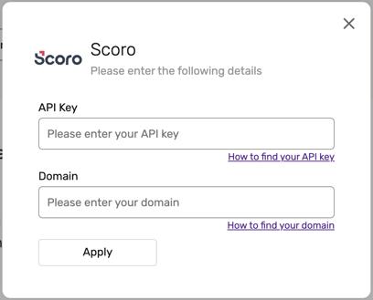 scoro-install-options
