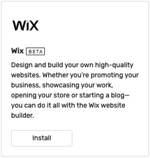 wix-install